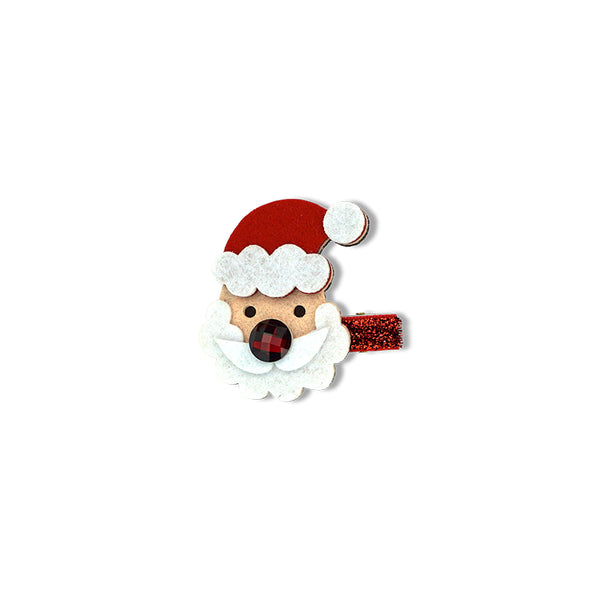Christmas Duck Clip - Santa