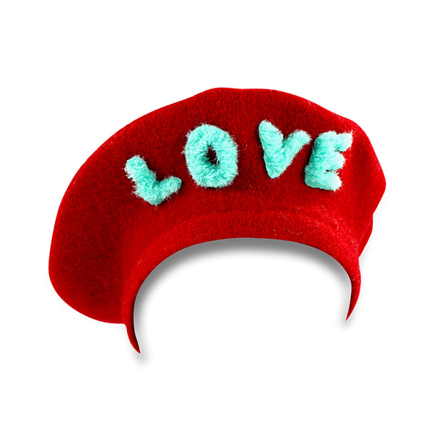 Love Beret - Red