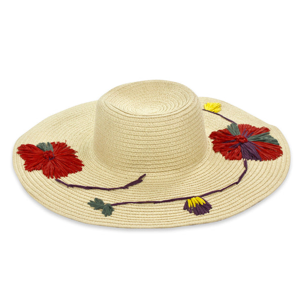 Carmen Embroidered Hat
