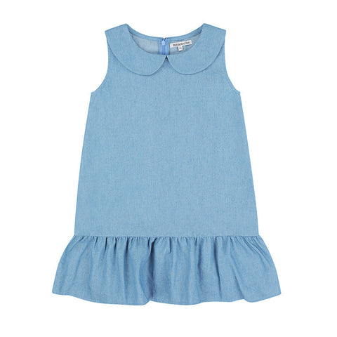 Chloe Sleeveless Dress - Denim