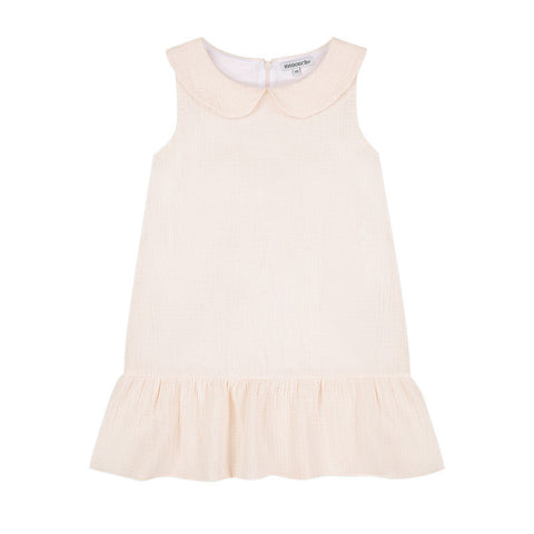Chloe Sleeveless Dress - Buttermilk