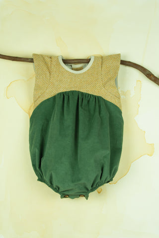 Green Playsuit