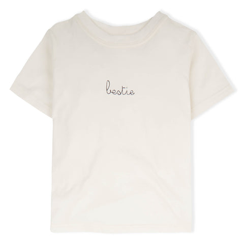 Bestie T-shirt - Natural/Mama