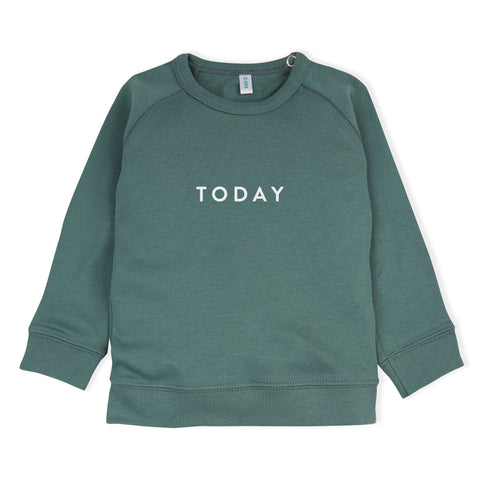 Today Sweatshirt - Pine Green