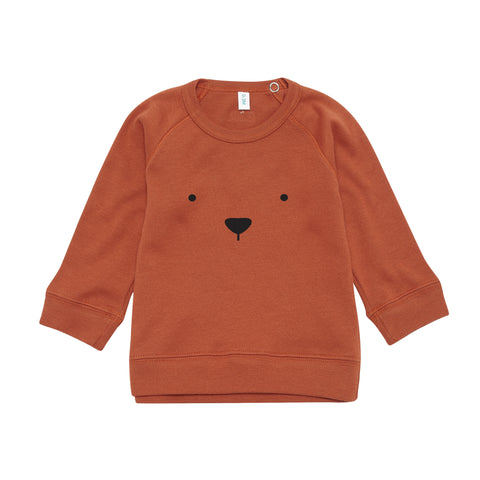 Rust Sweatshirt Bear