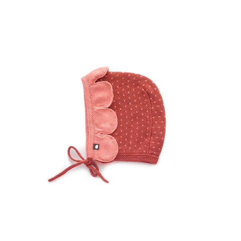 Daisy Hat - Rust/Light Pink