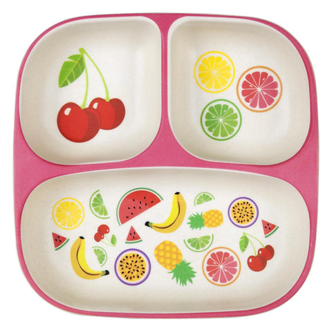 Eco Kids Plate - Fruit Salad