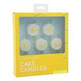 Daisy Cake Candles