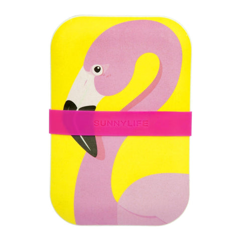 Eco Lunch Box - Flamingo