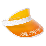 Retro Sun Visor - Neon Orange