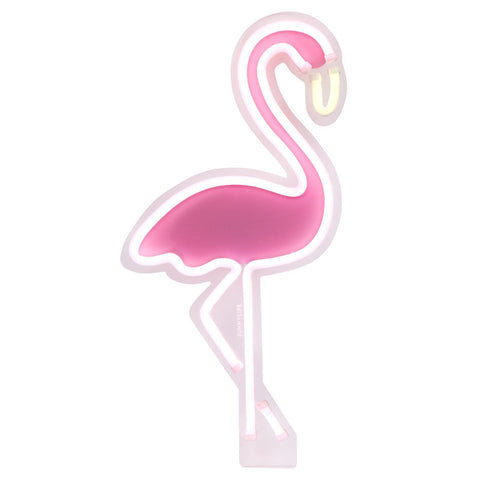 Neon LED Light - Flamingo