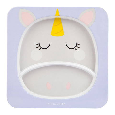 Kids Plate - Unicorn