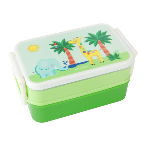 Kids Lunch Bento Box - Safari