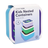 Kids Nested Containers - Under The Sea