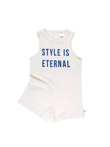 Style is Eternal SL Towel Onepiece - Off White