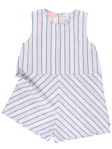 Stripes Relaxed WV Onepiece - Multicolor