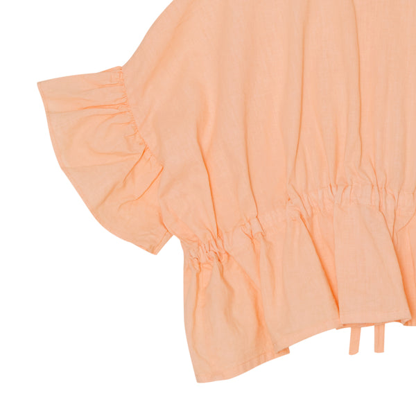 Hala Blouse - Salmon