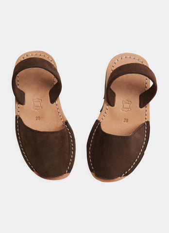 Avarca Sandal - Chocolate Brown
