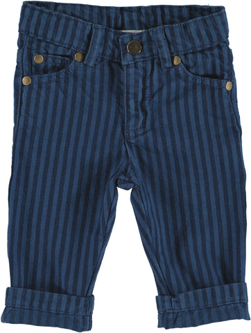 Trousers Mini Dean - Blue Stripes