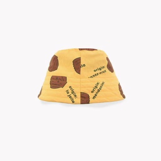 Shell Bucket Hat - Yellow/Brown