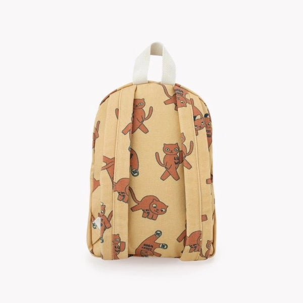 Cats Backpack - Sand/ Brown