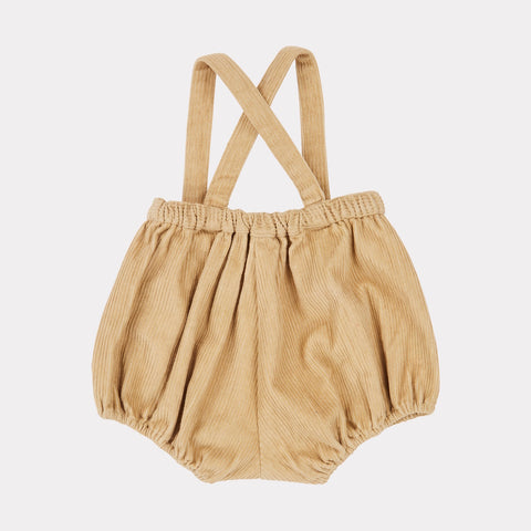 Dunlin Baby Romper - Flax