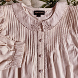 Madeleine Blouse - Nude Pink