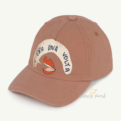 Hamster Kids Cap - Brown Mouth