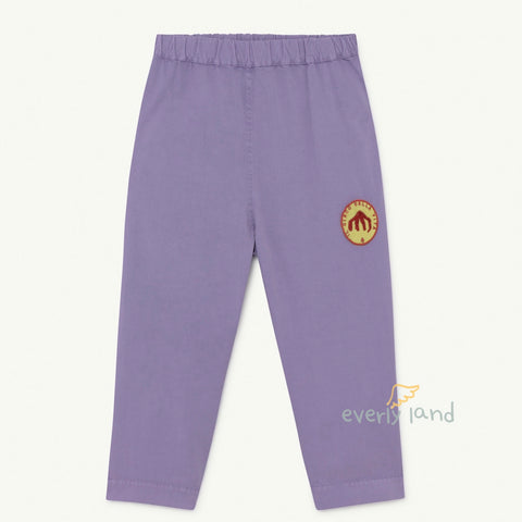 Elephant Kids trousers - Purple Circo