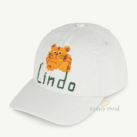Hamster Kids Cap - Soft Blue Lindo