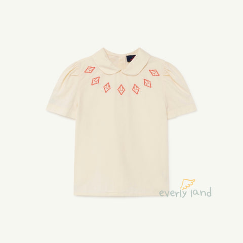 Canary Kids Blouse - White Logo