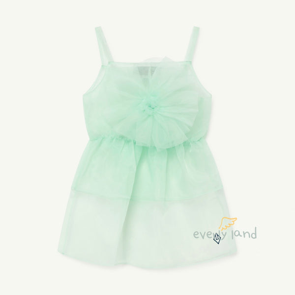 Dragonfly Kids Dress - Green Logo