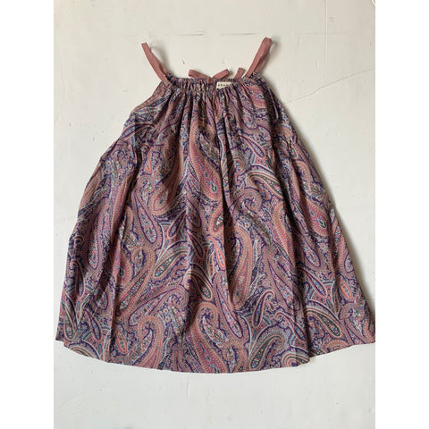 Cone Fish Dress - Paisley Park Pink