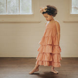 Flamenco Frock - Terracotta