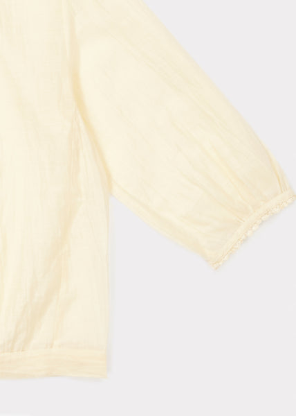 Cabra Blouse - Pale Yellow