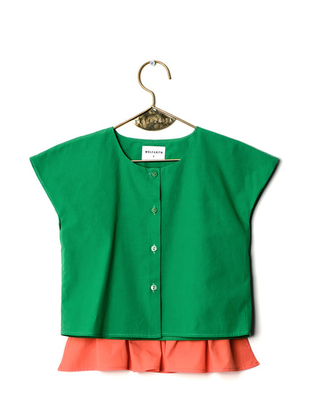 Candida Blouse - Green