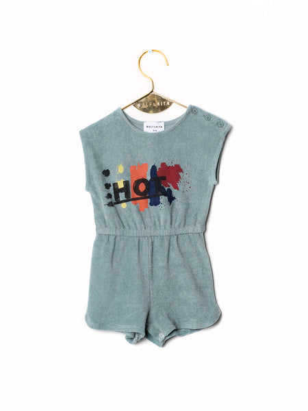 Ema Jumpsuit - Hot/Knit