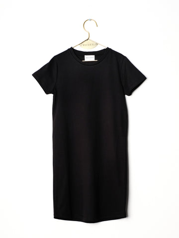 Gloria Dress - Black/Knit