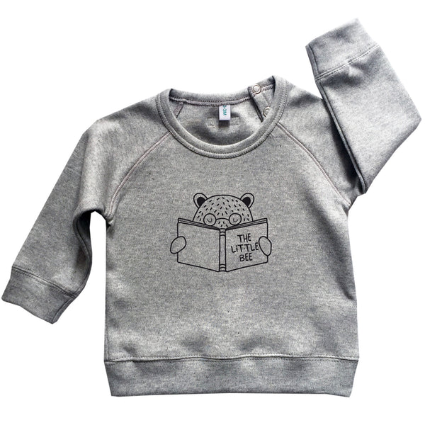 Bear Sweatshirt - Grey