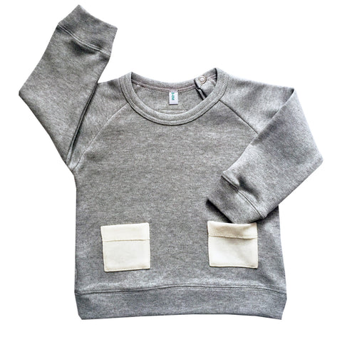 Pocket Sweatshirt - Grey
