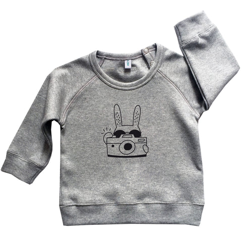 Rabbit Sweatshirt - Grey
