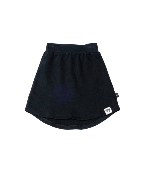 Basics Fleece Skirt - Black