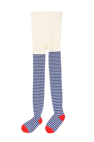 Nautical Stripe Tight - Ivory