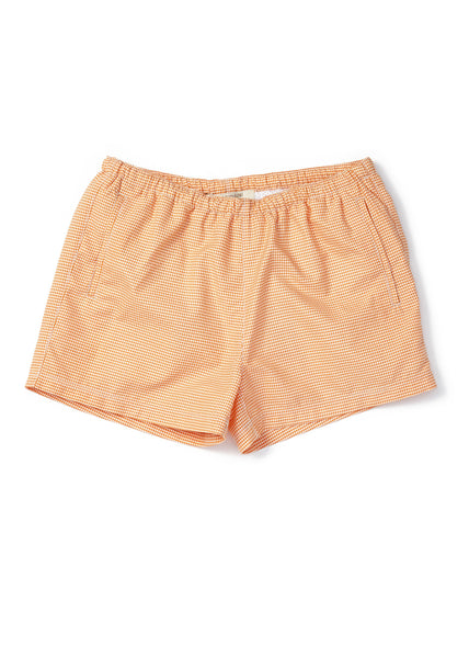 Mastic Swimshort - Carrot Check