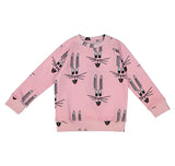 Pink Bunny Sweat Shirt