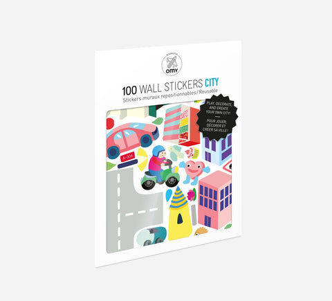 Wall Stickers - City