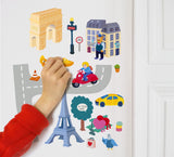 Wall Stickers - Paris
