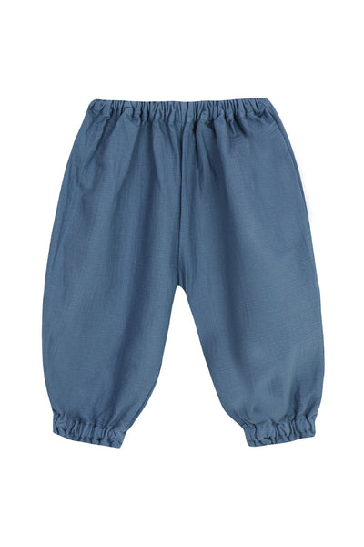 Gathered Nappy Trouser - Indigo