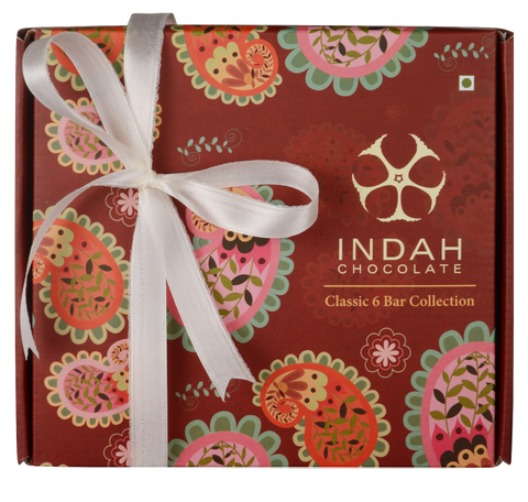 Indah Chocolate Classic Six Bar Collection - Indah Chocolate