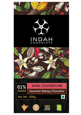 Indah 60% Dark Chocolate Couverture Bar